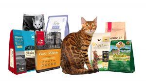 Сухие корма высокого качества, рекомендуем: Acana, Orijen, Applaws, Wildcat Etosha, Grandorf, GO!, Brit Care, Savarra, 1st Choice.