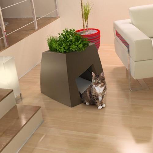 оригинальные домики для кошек