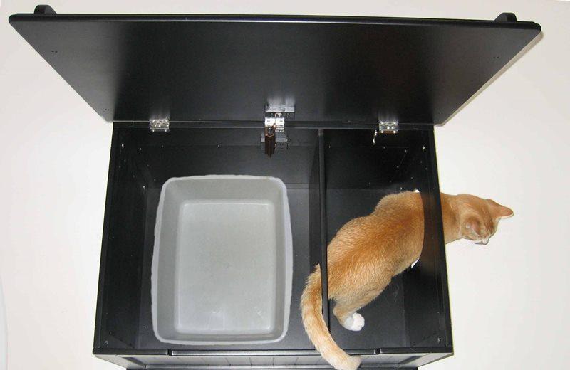 делаем лоток для кошки