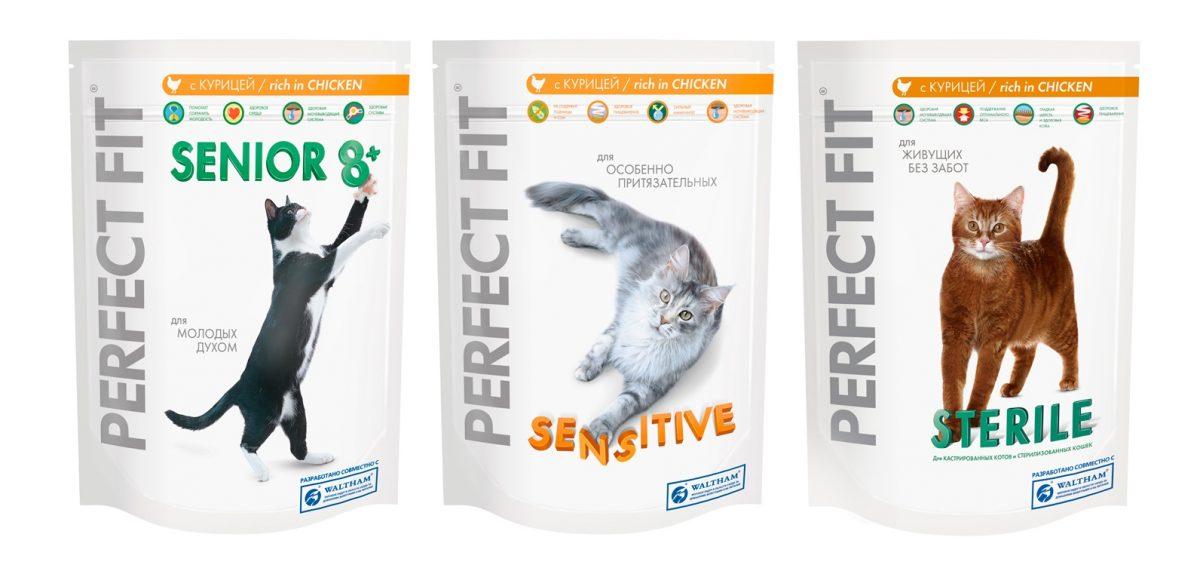 Отзывы о корме для кошек перфект фит