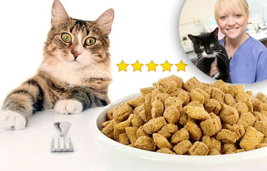 Анализ корма для кошек